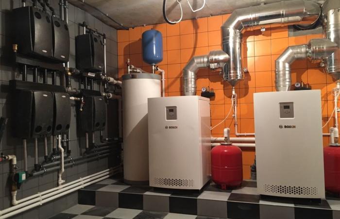 Монтаж отопления в загородном доме - недорого от профессионалов