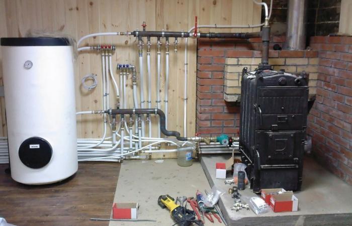 Выполним установку котла для отопления дома под ключ
